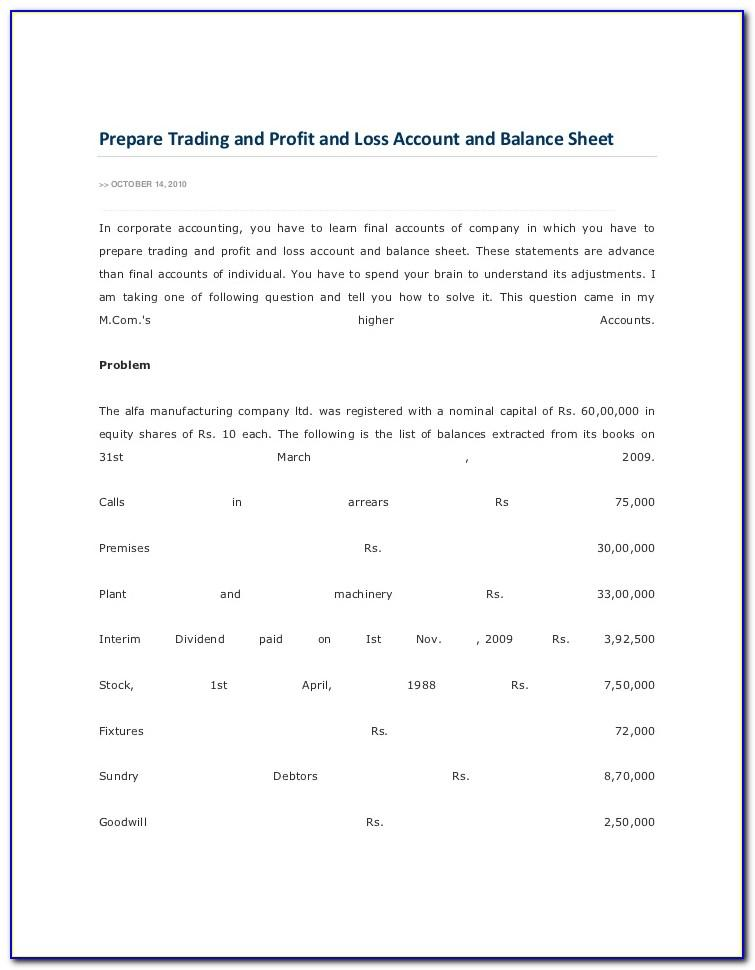 Probate Estate Inventory Template
