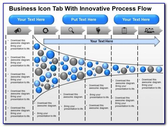 Process Flow Diagram In Visio Sample