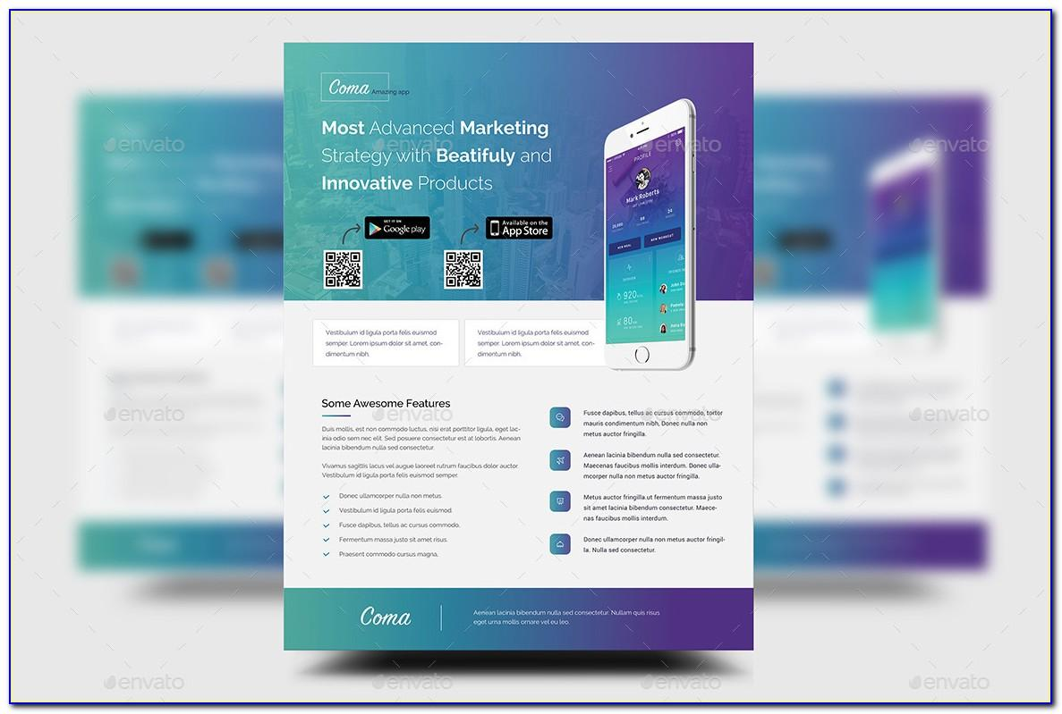 Product Promotion Flyer Template Free Psd