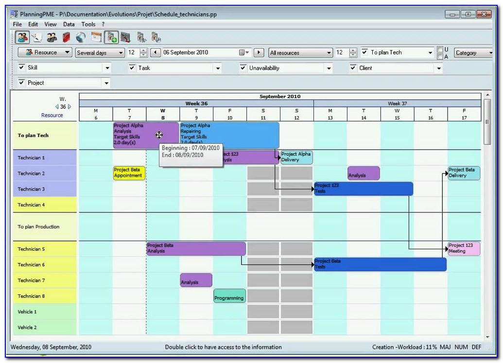 Production Schedule Template Excel Spreadsheet Excel Temp