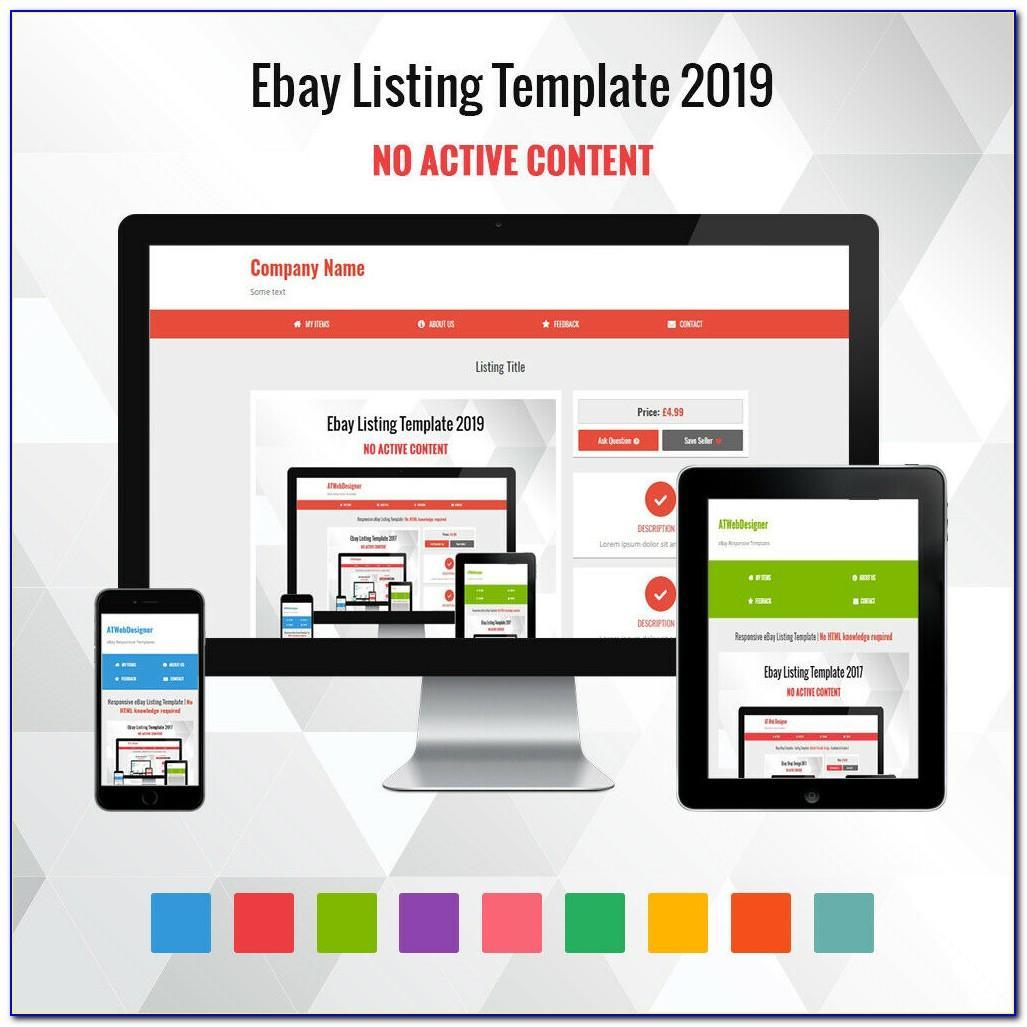 Professional Ebay Template Design