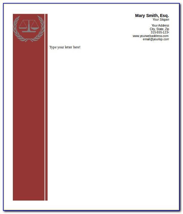 Professional Letterhead Format Free