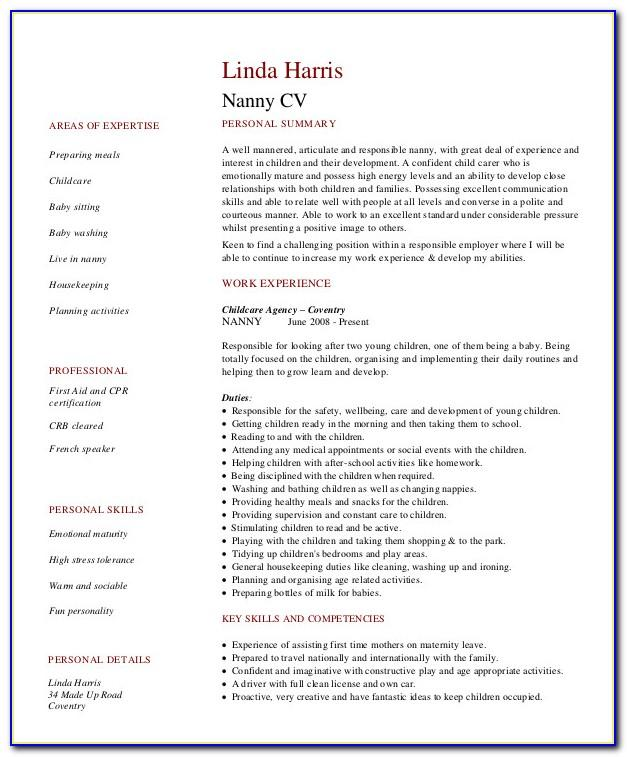 Professional Nurse Resume Examples
