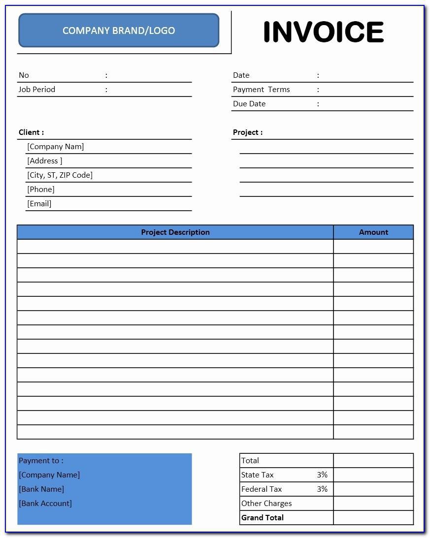 Proforma Invoice Example Doc