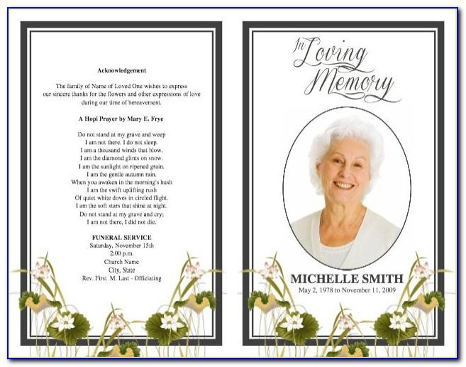 Program Layout For Wedding Ceremony