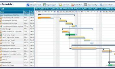 Project Cash Flow Forecast Template