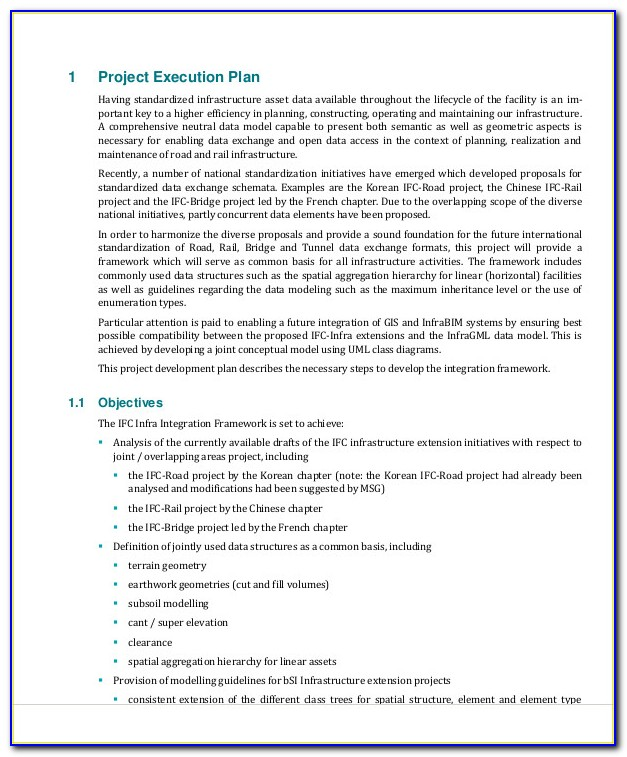 Project Financial Forecast Template