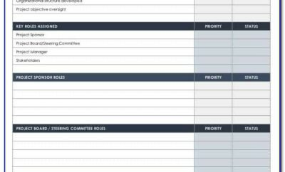 Project Governance Plan Example