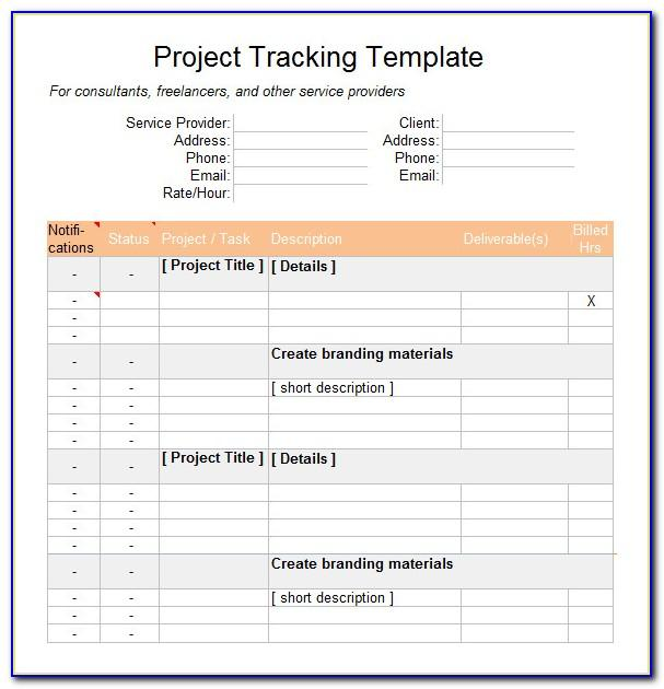 Project Management Budget Template Xls