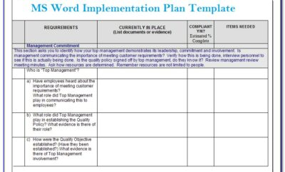Project Management Dashboard Template Software