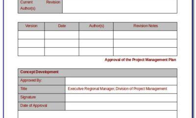 Project Management Doc Templates