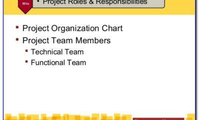 Project Management Human Resource Management Plan Template