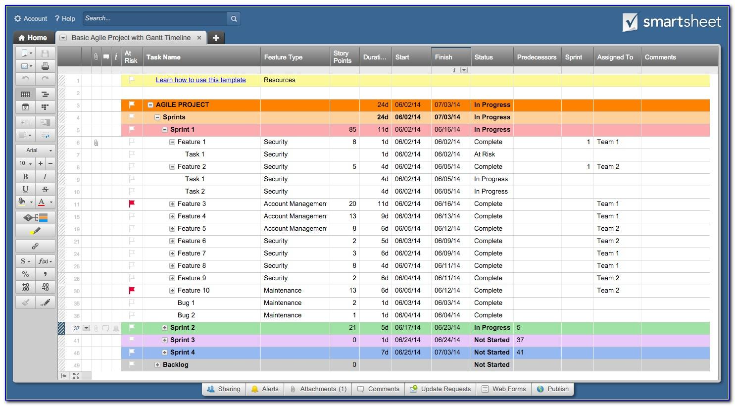 Project Management Templates In Excel 2013