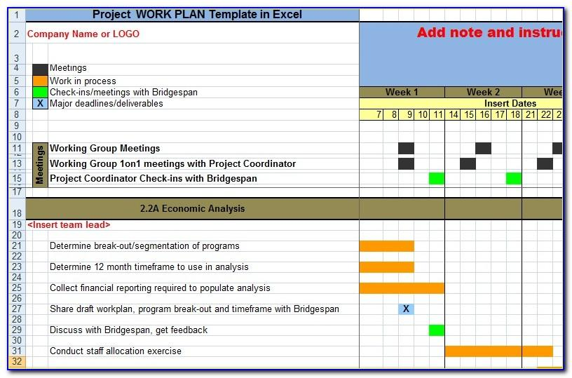 Project Management Work Breakdown Structure Example Pdf