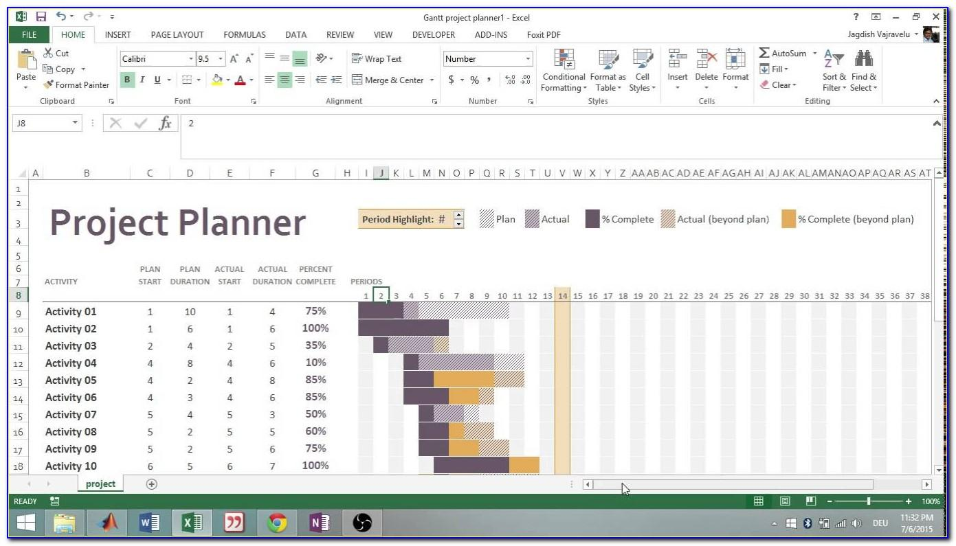 Project Plan Template Excel Download