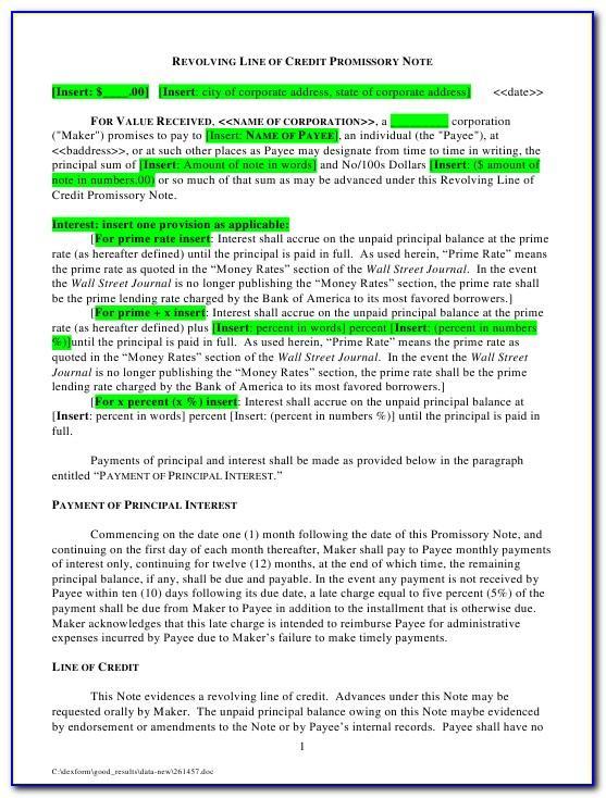 Promissory Note Format Pdf In Telugu