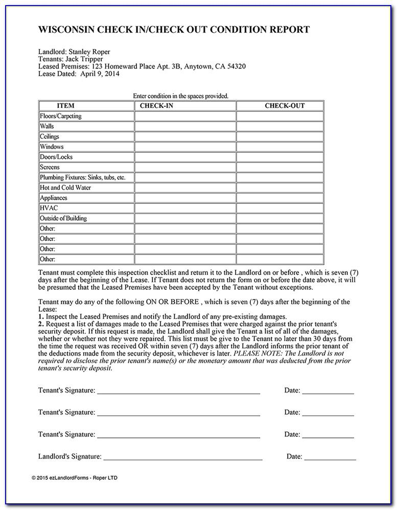 Property Condition Assessment Report Template