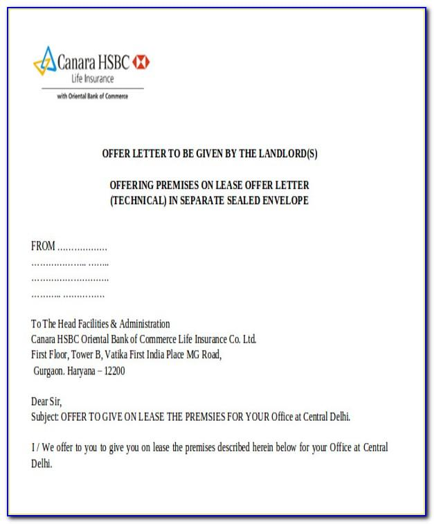 Property Management Lease Agreement Form