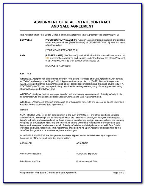 Property Sale Agreement Template Word
