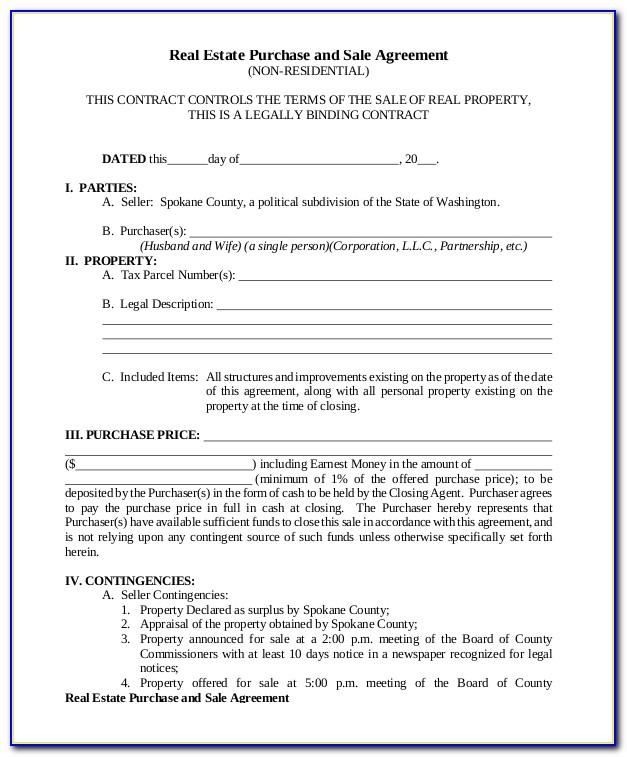 Property Selling Agreement Sample Pdf Letter