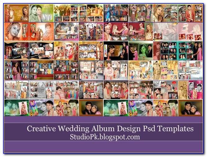 Psd Wedding Album Templates Rar
