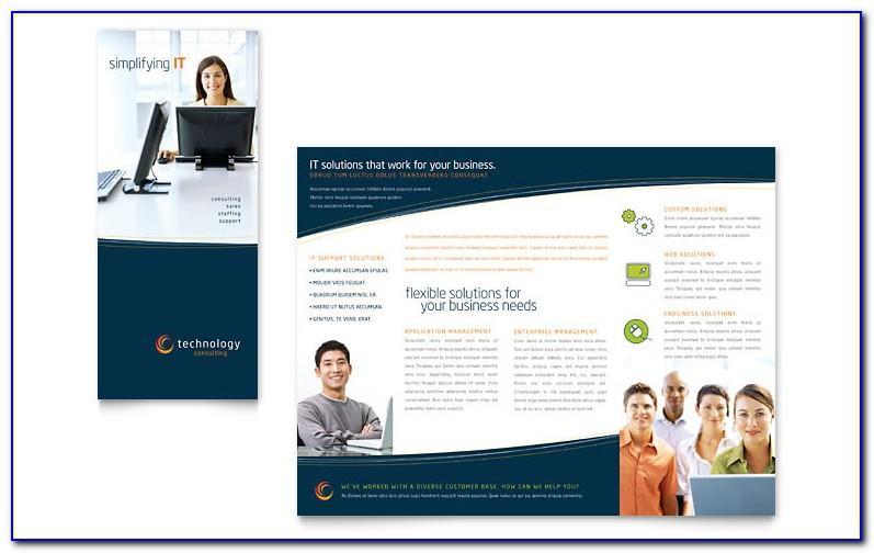 Publisher Templates Tri Fold Brochure