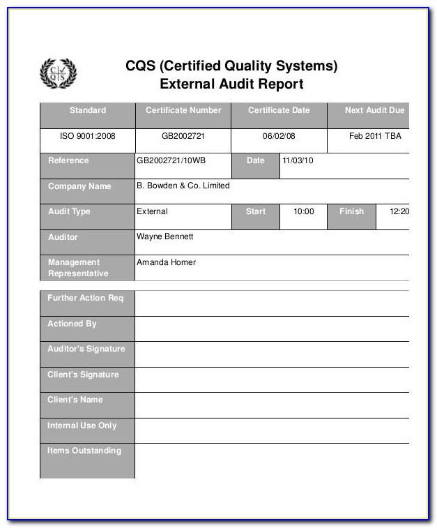 Qa Master Test Plan Template