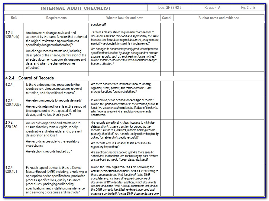 Qa Test Plan Format