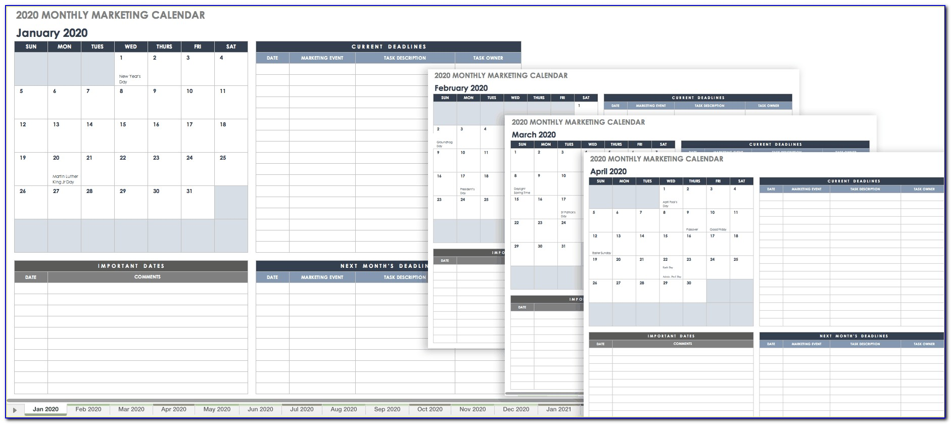 Quarterly Financial Report Format In Excel