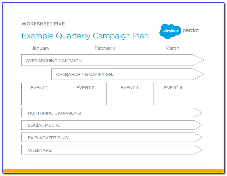 Quarterly Marketing Plan Template Ppt