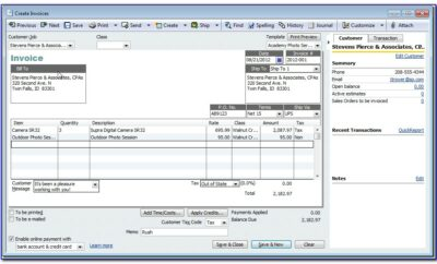 Quickbooks Change Email Invoice Template