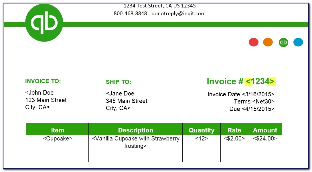 Quickbooks Item Import Template