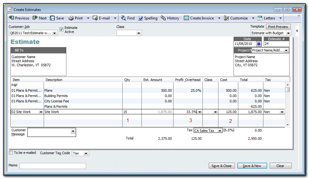 Quickbooks Online Chart Of Accounts Template