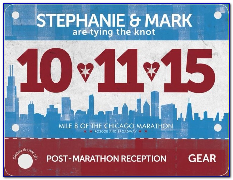 Race Bib Number Template Free