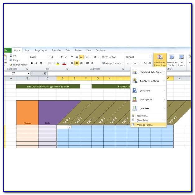 Raci Matrix Project Management Example