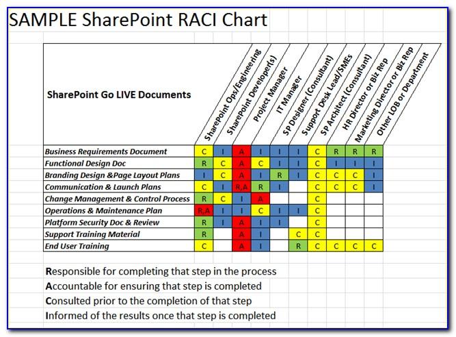 Raci Matrix Project Management Pdf