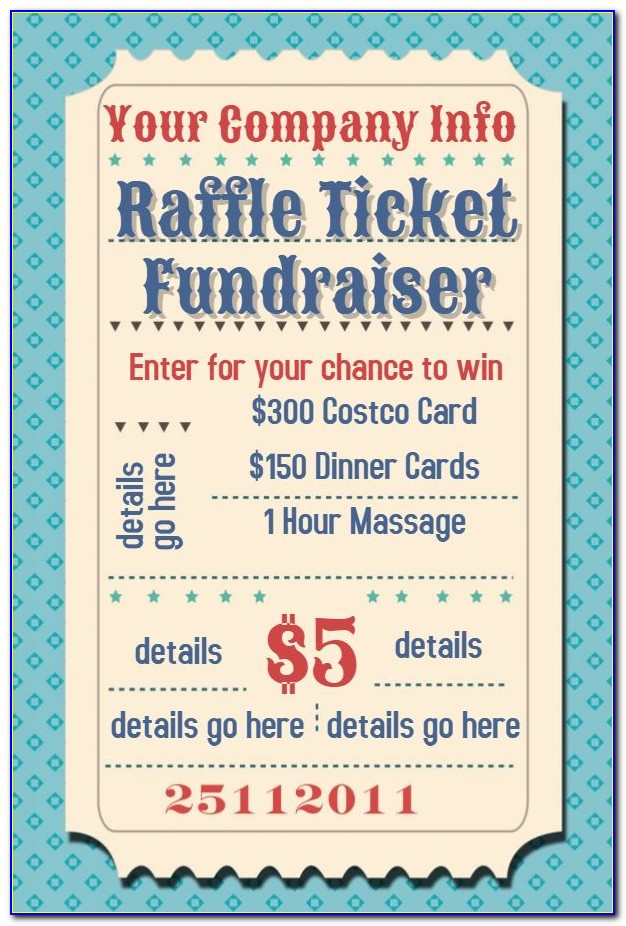 Raffle Flyer Templates Free