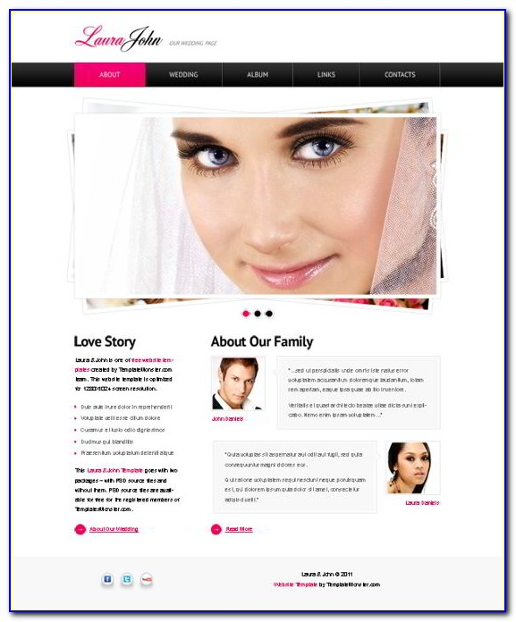 Ready Made Website Templates Free Download