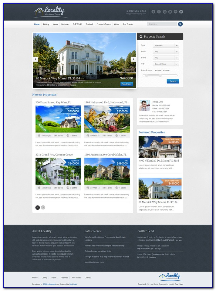 Real Estate Advertisement Template Free