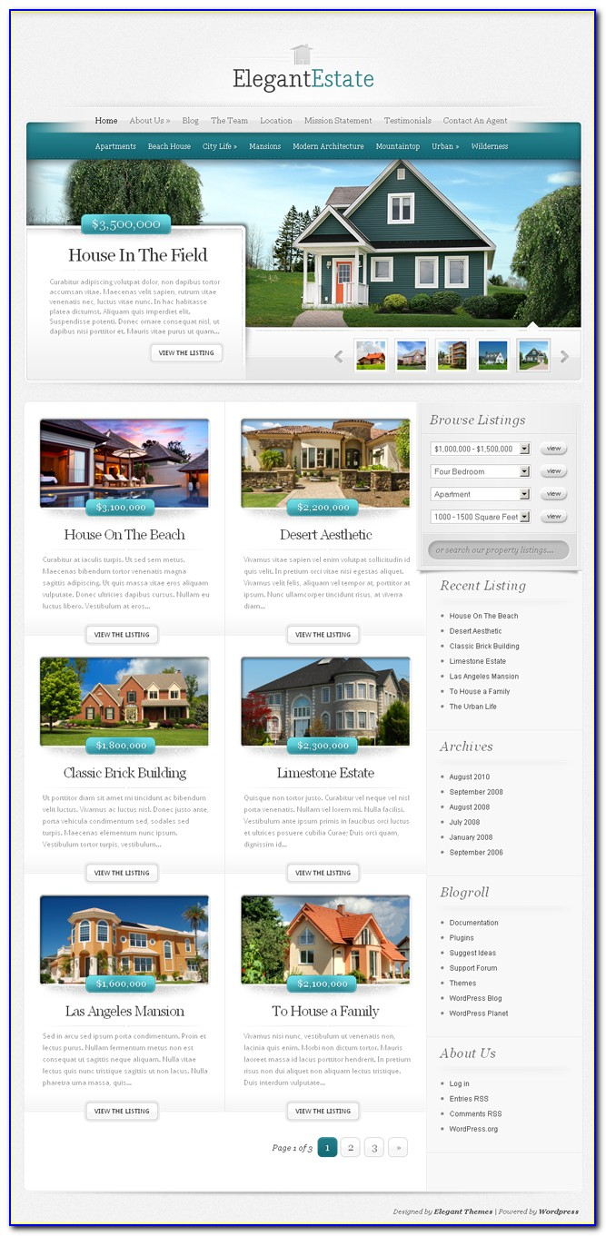 Real Estate Agent Advertising Templates