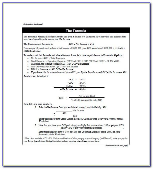 Real Estate Agent Business Plan Sample Pdf