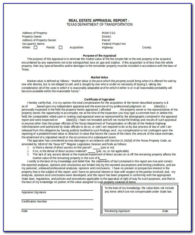 Real Estate Appraisal Test Prep
