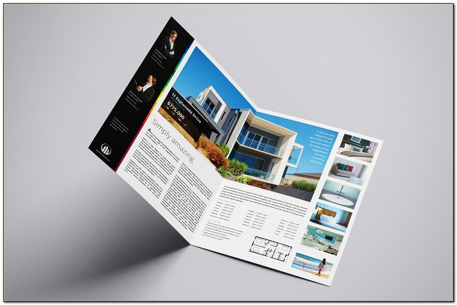 Real Estate Booklet Template