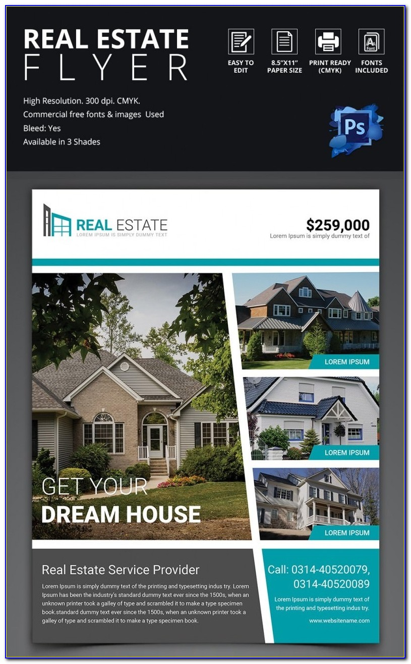Real Estate Brochure Template Indesign