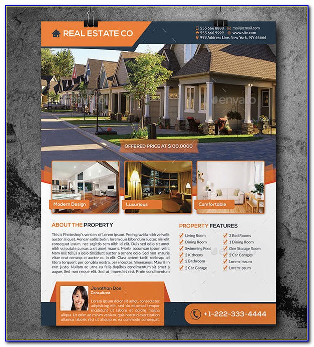 Real Estate Brochure Template Pdf