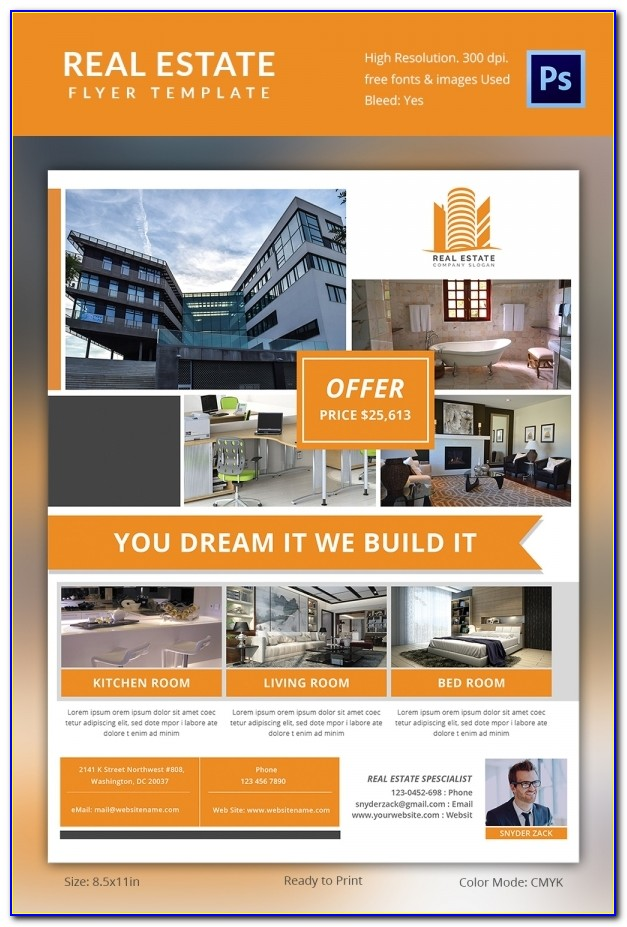 Real Estate Brochure Templates Free Download