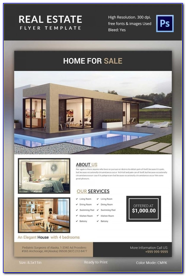 Real Estate Brochure Templates Free