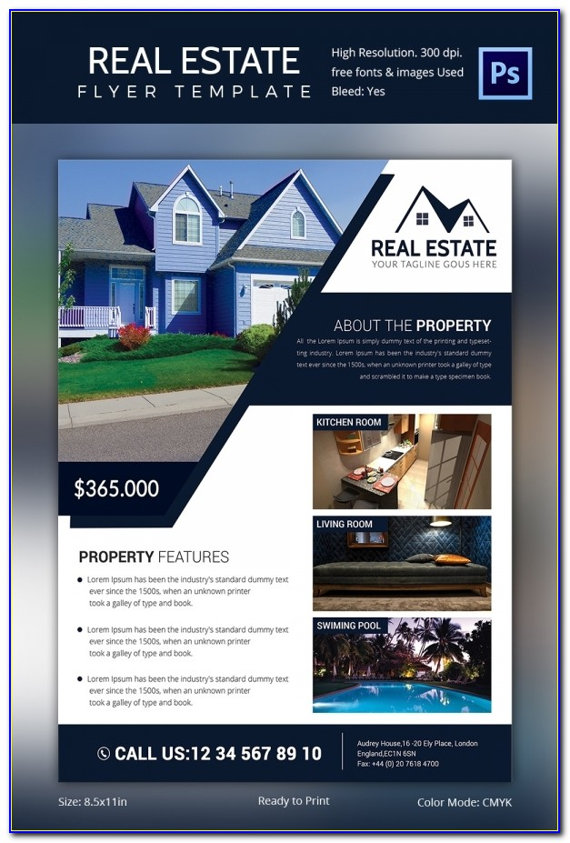 Real Estate Brochures Templates Free