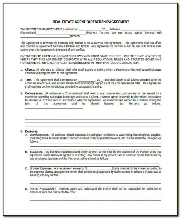 Real Estate Broker Commission Agreement Form Philippines