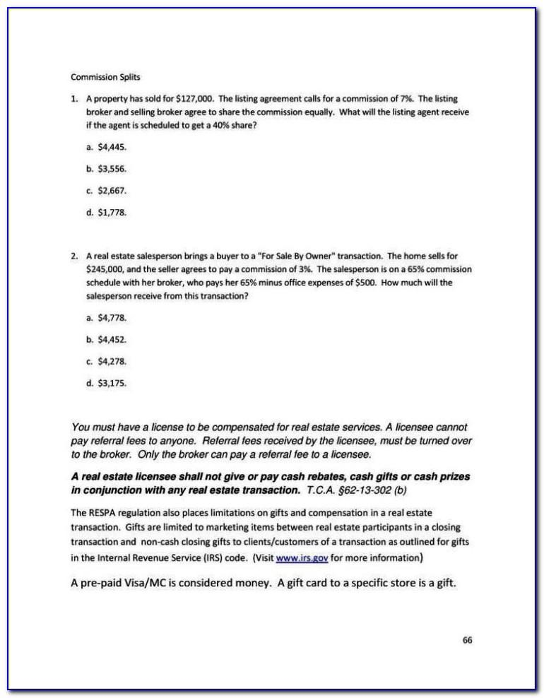 Real Estate Commission Sharing Agreement Template